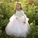 Robe Golden Princesse rose 3-4 ans - Great Pretenders