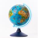 Globe Terrestre lumineux avec les animaux