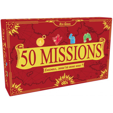 50 MISSIONS + CARTES CHALLENGES