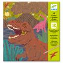Cartes à gratter, Le Règne des Dinosaures - Djeco