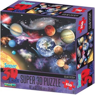 PUZZLE 3D SYSTEME SOLAIRE