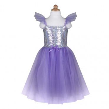 Robe de Princesse Lilac 5-6 ans - Great Pretenders