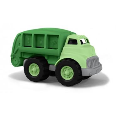Camion poubelle de recyclage