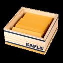 Kapla coffret de 40 planchettes jaunes