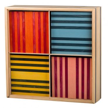 Kapla coffret de 100 planchettes couleur