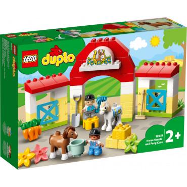 L'écurie et les poneys - Lego Duplo