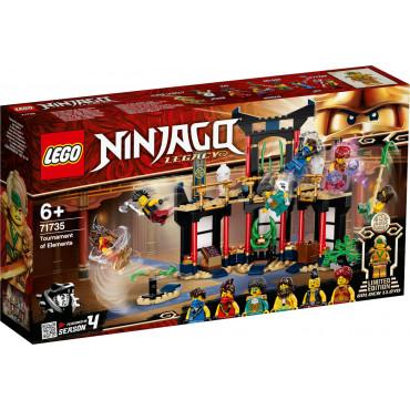 LE TOURNOI DES ELEMENTS - Lego