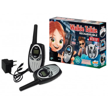 WALKIE TALKIE RECHARGEABLE 4KM 8 CANAUX