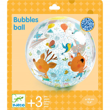 BALLON GONFLABLE BUBBLES BALL 35 CM
