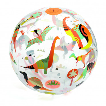 Ballon gonflable Dinosaures - Djeco