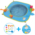 PISCINE POP UP PLAGE 72 X 72 X 16CM LUDI