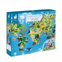 PUZZLE EDUCATIF ANIMAUX MENACES 200P