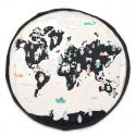 Tapis de jeu et sac de rangement, Carte du monde - Play & Go