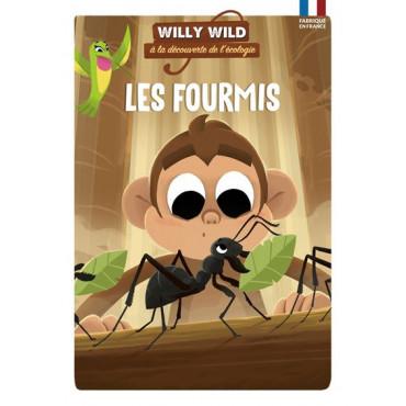 Les Fourmis - Willy Wild, à la découverte de l'écologie