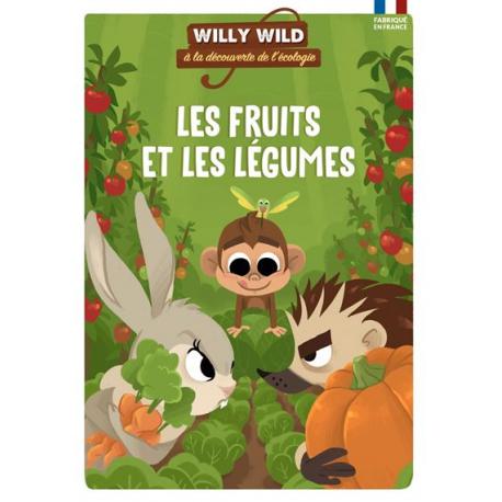 Les Fruits et Légumes - Willy Wild, à la découverte de l'écologie