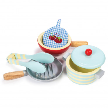 Ustensiles de cuisine en bois, Honey Bake - Le Toy van