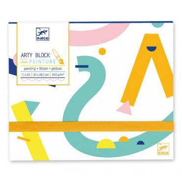 Arty Block Papier peinture - Djeco