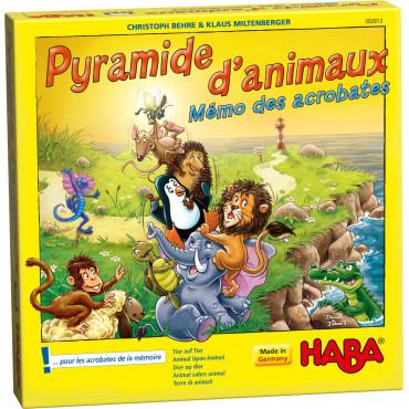 LA PYRAMIDE DES ANIMAUX MEMO DES ACROBAT