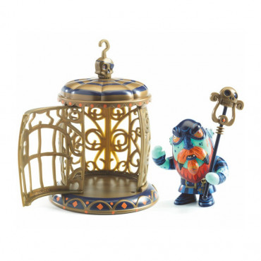 ARTY TOYS PIRATES GNOMUS AND ZE CAGE