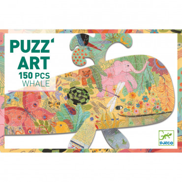 PUZZLE ART WHALE 150 PCS