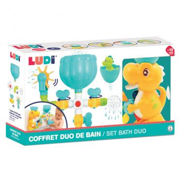 COFFRET DE BAIN DINO LUDI