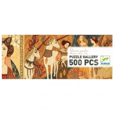 PUZZLE GALLERY DAMES A LA LICORNE 500P