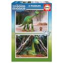 2 Puzzles 48 pièces Voyage d'Arlo Disney Pixar - Educa