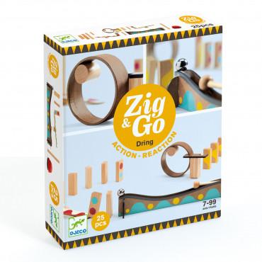 ZIG & GO 25 PCS TOBOGGAN A BILLES