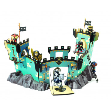 Arty Toys castel on ze rock