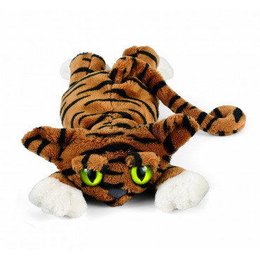 Peluche chat Lanky cats Todd tigré