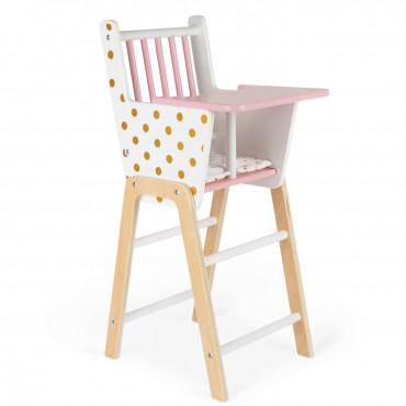 Chaise haute en bois Candy Chic - Janod