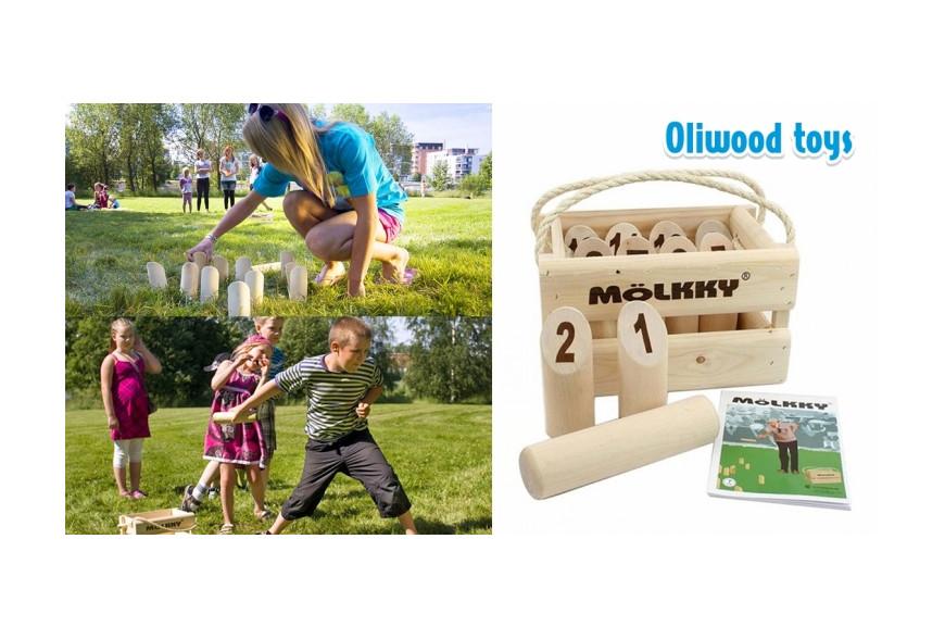 MÖLKKY, le jeu convivial de plein air pour toute la famille !