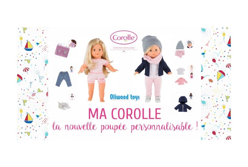 """Avec """"MA COROLLE"""", ta poupée telle que tu la souhaites!"""